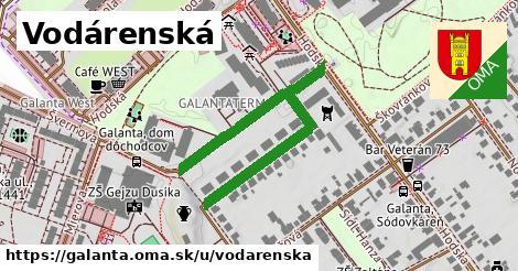ilustrácia k Vodárenská, Galanta - 511m