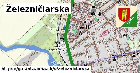 ilustrácia k Železničiarska, Galanta - 0,83km