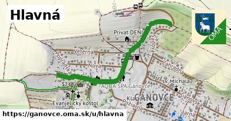 ilustrácia k Hlavná, Gánovce - 599m