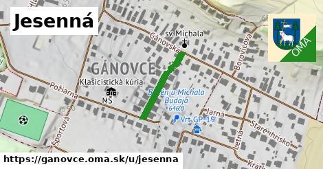 ilustrácia k Jesenná, Gánovce - 178m