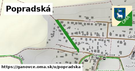 ilustrácia k Popradská, Gánovce - 208m