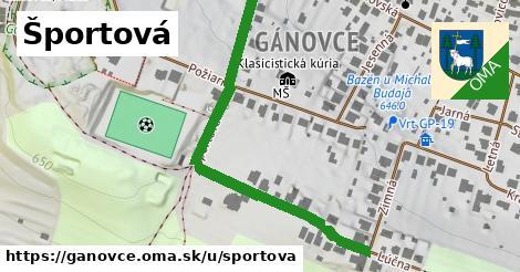 ilustrácia k Športová, Gánovce - 685m