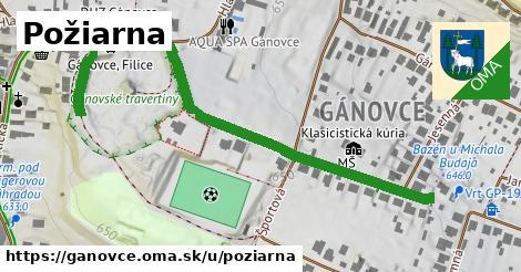 ilustrácia k Požiarna, Gánovce - 577m