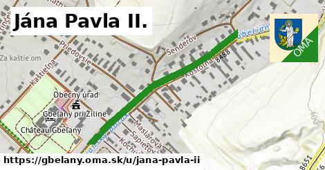 ilustrácia k Jána Pavla II., Gbeľany - 417m