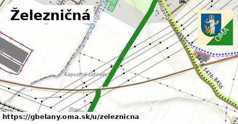 ilustrácia k Železničná, Gbeľany - 0,93km