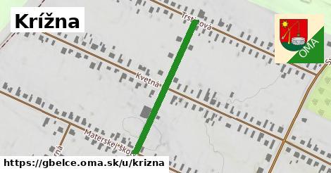 ilustrácia k Krížna, Gbelce - 331m