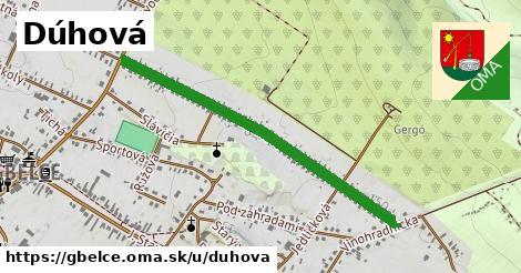 ilustrácia k Dúhová, Gbelce - 0,93km
