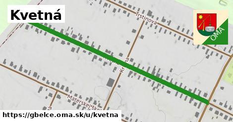 ilustrácia k Kvetná, Gbelce - 662m