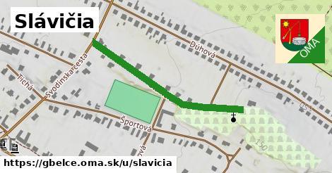 ilustrácia k Slávičia, Gbelce - 324m