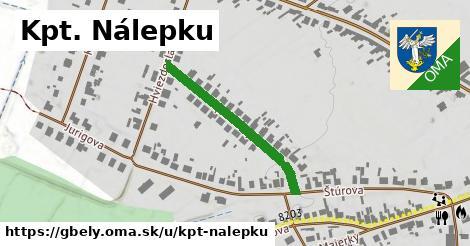 ilustrácia k Kpt. Nálepku, Gbely - 293m