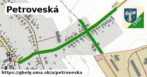 ilustrácia k Petroveská, Gbely - 2,0km