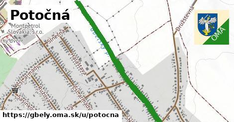 ilustrácia k Potočná, Gbely - 1,06km