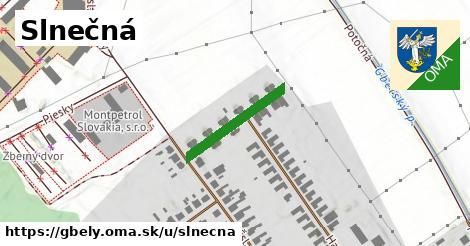 ilustračný obrázok k Slnečná, Gbely