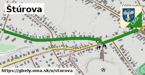 ilustrácia k Štúrova, Gbely - 0,71km