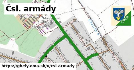 ilustrácia k Čsl. armády, Gbely - 2,4km
