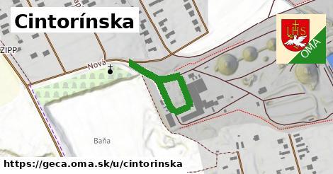 ilustrácia k Cintorínska, Geča - 316m