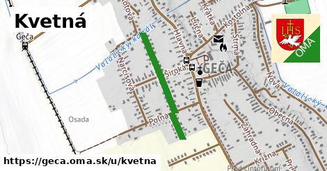 ilustrácia k Kvetná, Geča - 512m