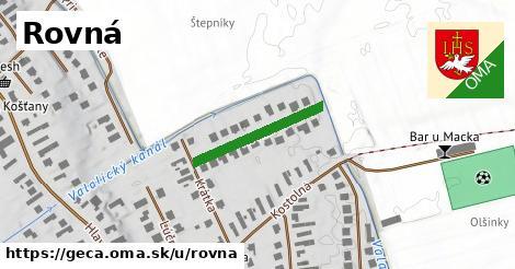 ilustrácia k Rovná, Geča - 205m