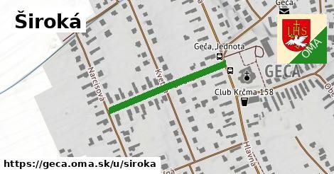 ilustrácia k Široká, Geča - 281m