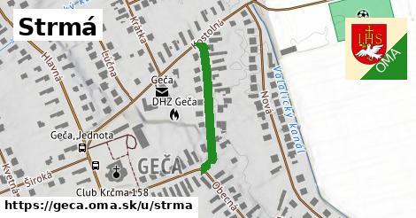 ilustrácia k Strmá, Geča - 241m
