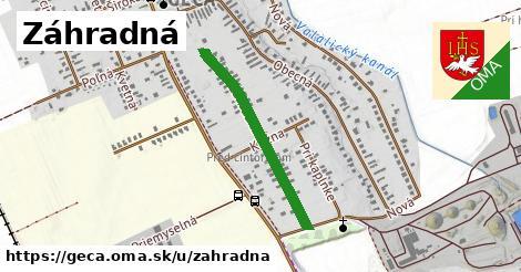 ilustrácia k Záhradná, Geča - 405m