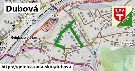 ilustrácia k Dubová, Gelnica - 373m