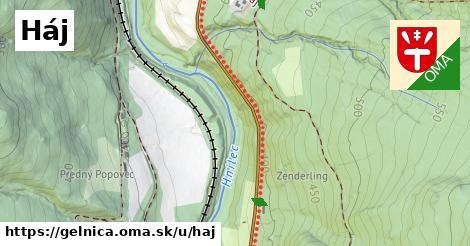 ilustrácia k Háj, Gelnica - 1,52km