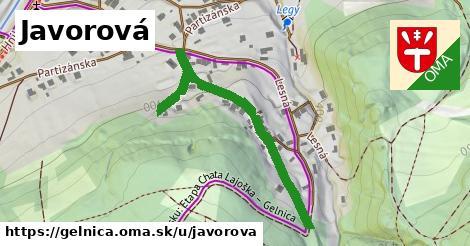 ilustrácia k Javorová, Gelnica - 447m