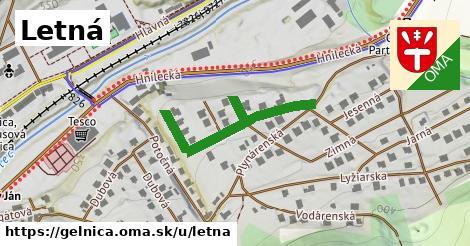 ilustrácia k Letná, Gelnica - 339m