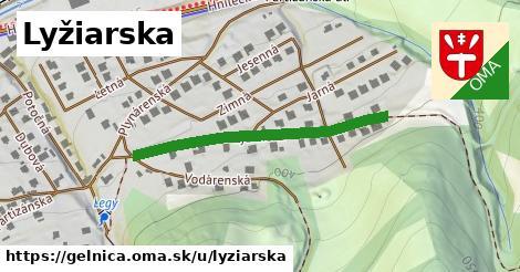 ilustrácia k Lyžiarska, Gelnica - 367m
