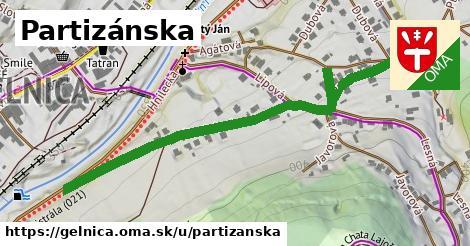 ilustrácia k Partizánska, Gelnica - 630m
