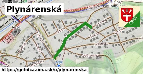 ilustrácia k Plynárenská, Gelnica - 289m