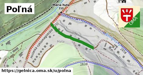 ilustrácia k Poľná, Gelnica - 256m