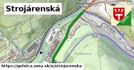 ilustrácia k Strojárenská, Gelnica - 693m