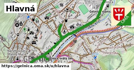 ilustrácia k Hlavná, Gelnica - 1,74km