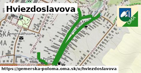 ilustrácia k Hviezdoslavova, Gemerská Poloma - 0,80km