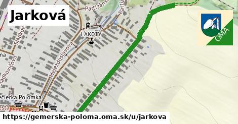 ilustrácia k Jarková, Gemerská Poloma - 354m