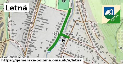 ilustrácia k Letná, Gemerská Poloma - 355m