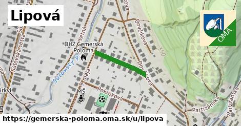 ilustračný obrázok k Lipová, Gemerská Poloma