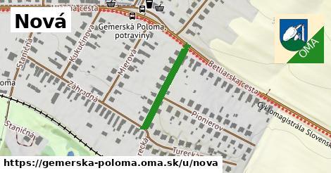ilustrácia k Nová, Gemerská Poloma - 213m