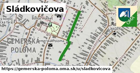 ilustrácia k Sládkovičova, Gemerská Poloma - 262m