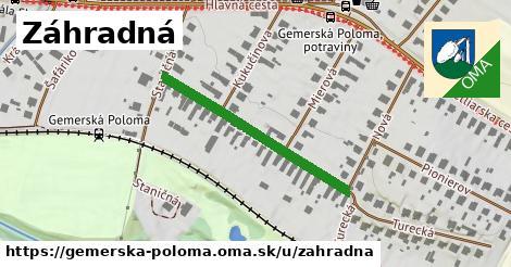 ilustračný obrázok k Záhradná, Gemerská Poloma