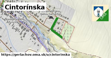 ilustrácia k Cintorínska, Gerlachov - 179m