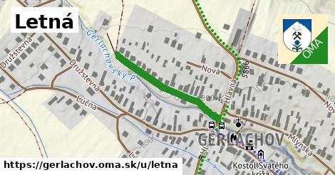 ilustrácia k Letná, Gerlachov - 275m