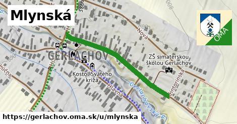 ilustrácia k Mlynská, Gerlachov - 372m