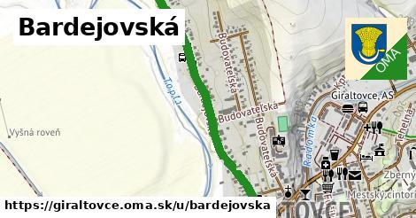 ilustrácia k Bardejovská, Giraltovce - 1,07km