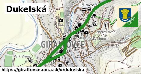 ilustrácia k Dukelská, Giraltovce - 2,5km