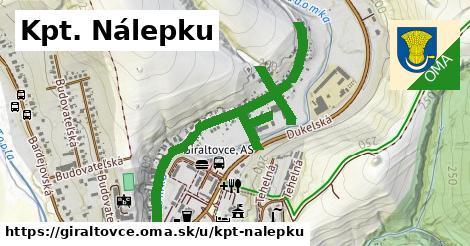ilustrácia k Kpt. Nálepku, Giraltovce - 1,38km