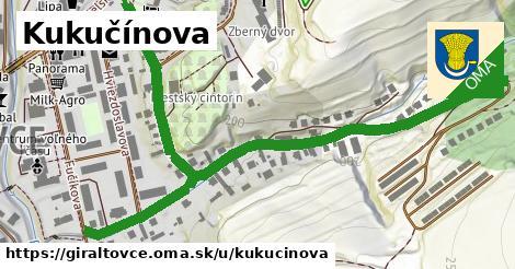 ilustrácia k Kukučínova, Giraltovce - 485m