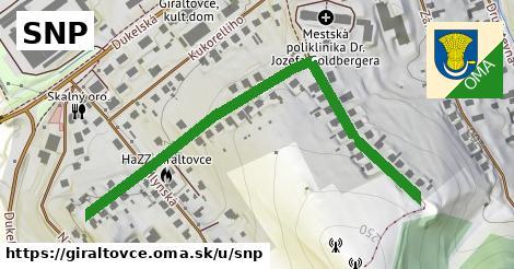 ilustračný obrázok k SNP, Giraltovce